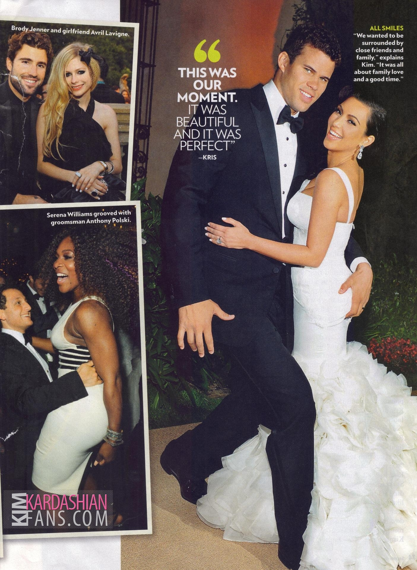 Kim Kardashian People Magazine Wedding Edition Hq Scans