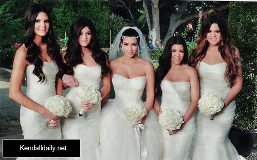 Kim Kardashian's Wedding Pictures