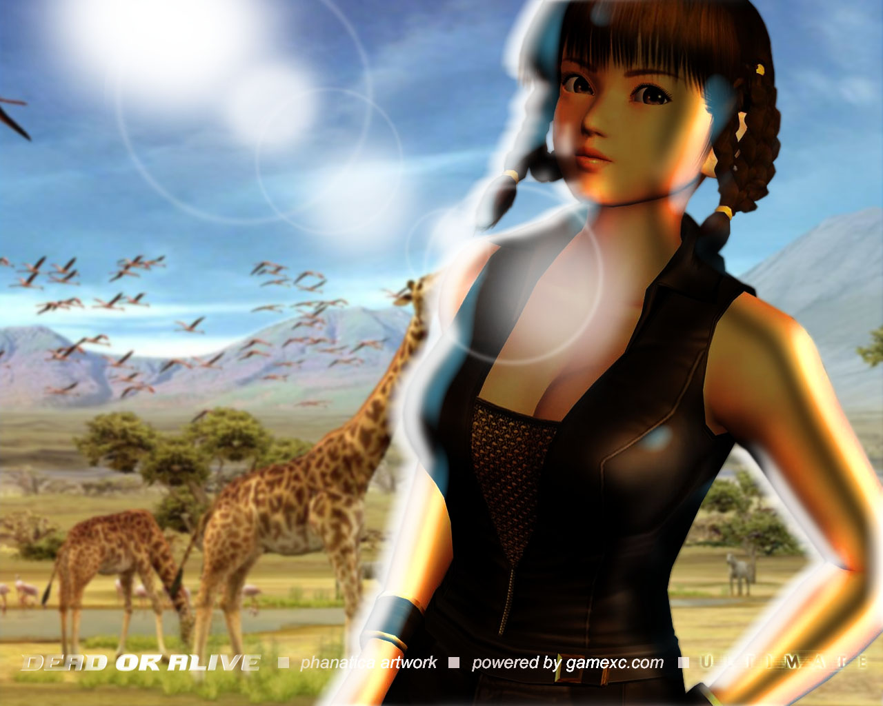 Dead Or Alive Nyotengu Naughty Dream