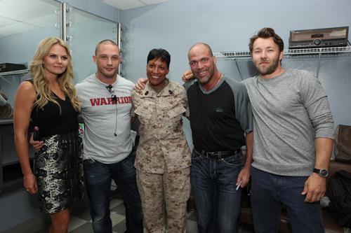 Lionsgate's 'Warrior' Screening at Camp Pendleton [July 22, 2011]