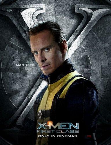 James McAvoy and Michael Fassbender वॉलपेपर titled Magneto