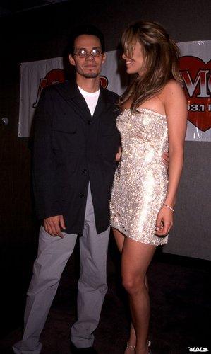 Marc Anthony, Jennifer Lopez - Amor 93.1 Press Conference 1999