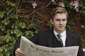 Matthew reads the paper