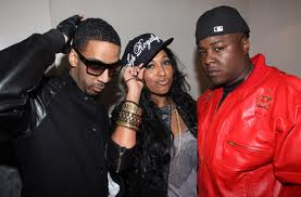 Melanie Fiona with Ryan Leslie and Jadakiss