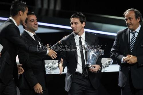Messi, Xavi and Barça steal the onyesha in Monaco
