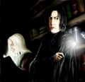 Midnight Reading - severus-and-lucius-beneath-the-masks fan art