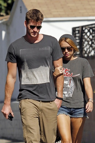 Miley - At the LTH Studio in Los Angeles - August 20, 2011