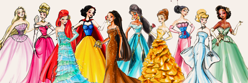 princesas de disney fondo de pantalla entitled Modern Princesses