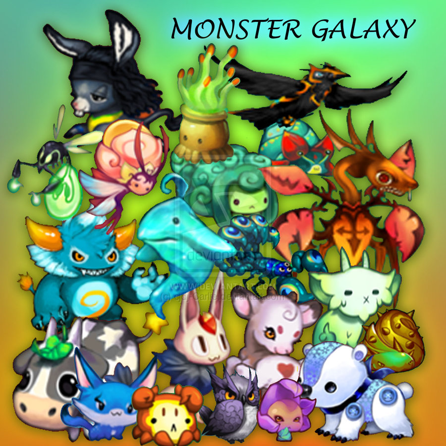 Moga Monsters Monster Galaxy