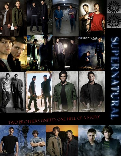 My Sam and Dean Collage :}