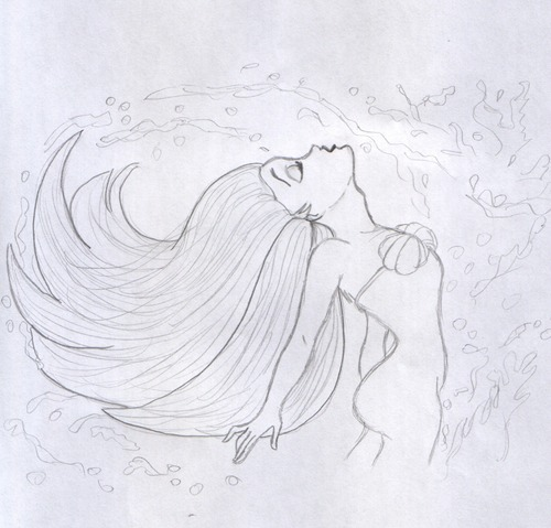 Disney Princess images My drawing of Ariel HD wallpaper ...