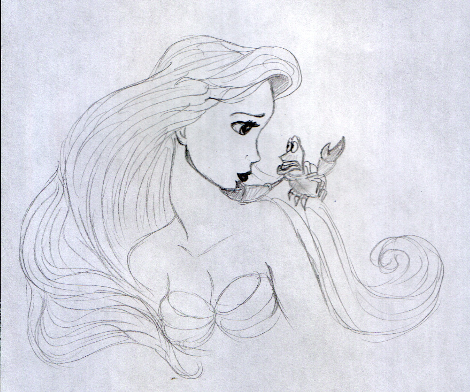 how to draw princess disney