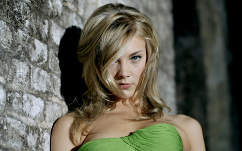 Natalie Dormer wallpaper possibly with a bustier, a cocktail dress, and a chemise titled Natalie Dormer