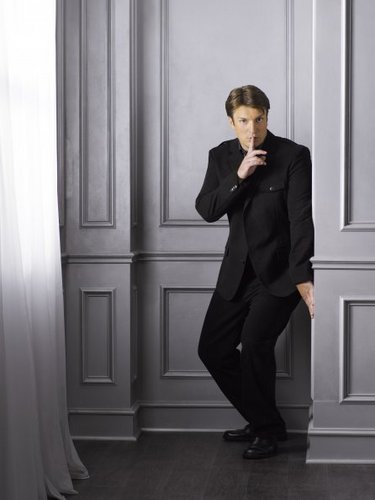 Nathan Fillion - château Season 4 Promotional photos