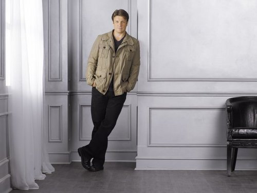 Nathan Fillion - schloss Season 4 Promotional Fotos