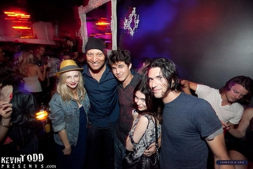 New/old fotografias of Candice at The Variety Sports Bar in West Hollywood!