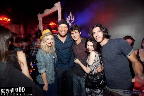 New/old fotos of Candice at The Variety Sports Bar in West Hollywood!