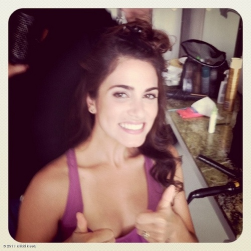 Nikki Reed wallpaper probably containing a portrait called New twitter pic!