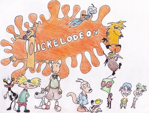 Nickelodeon Обои containing Аниме entitled Nickelodeon