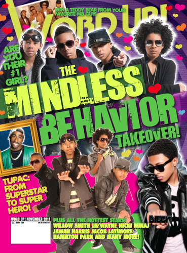 November Word Up! cover