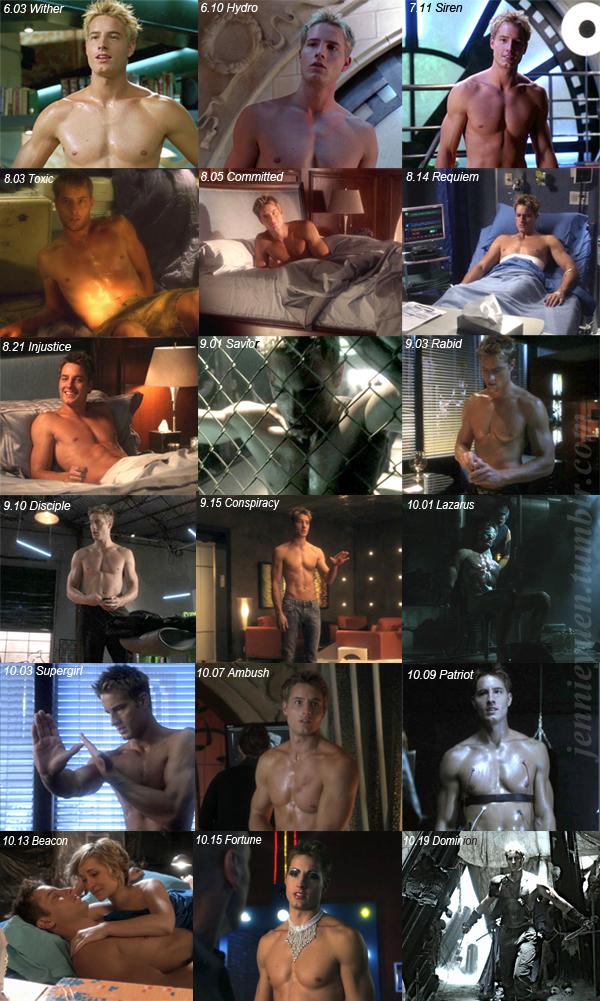Ollie's Shirtless Scenes