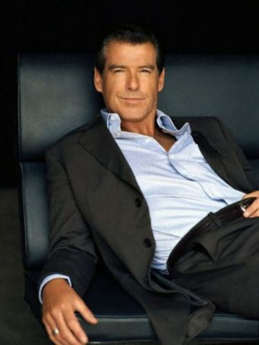 PIERCE BROSNAN BLUE рубашка