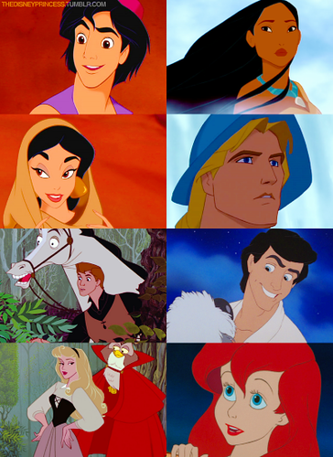 Princesses and Princes love at first sight