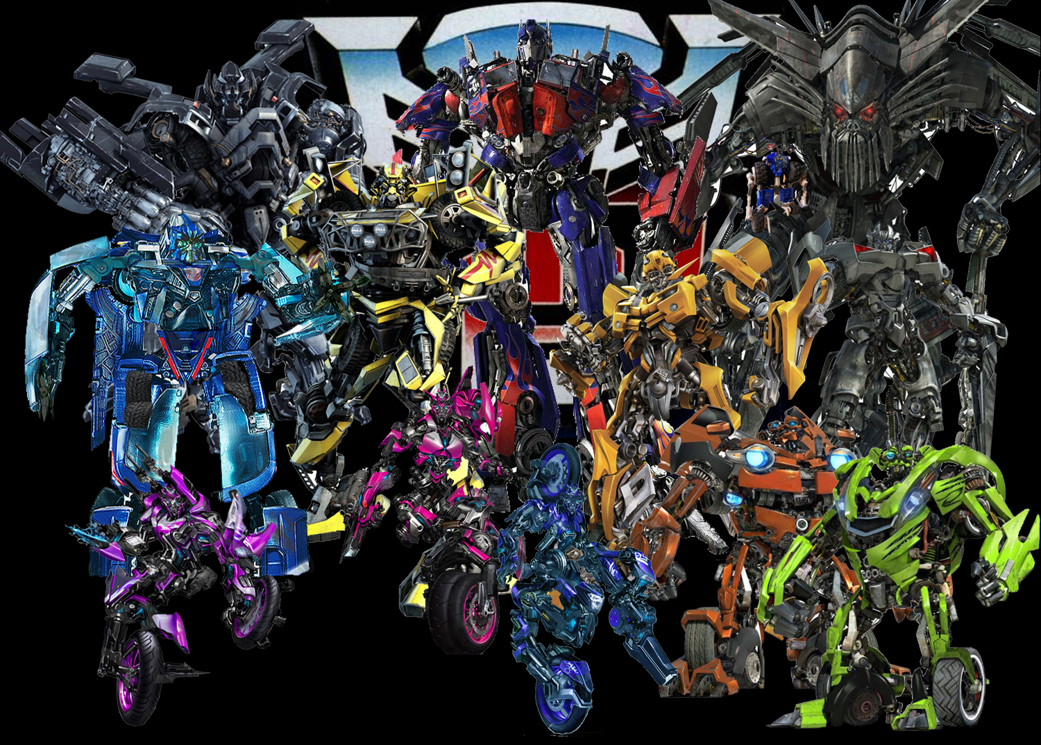 ROTF transformers Characters