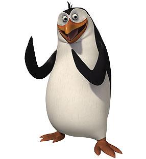 पेंग्विन्स ऑफ मॅडगास्कर वॉलपेपर titled Rico