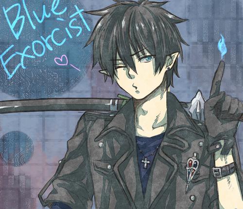 Ao no Exorcist fondo de pantalla with anime entitled Rin