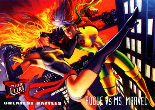 Rogue and Ms.Marvel
