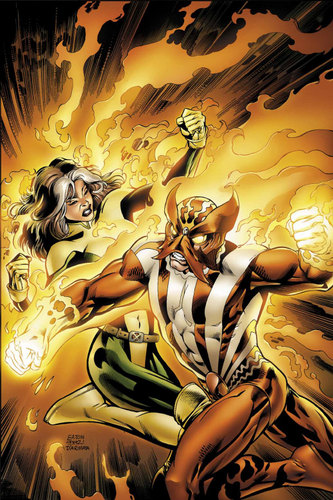 Rogue and Sunfire