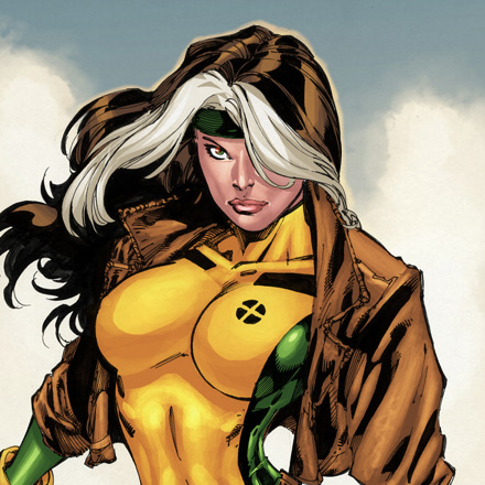 X-Men wallpaper possibly with anime titled Rogue