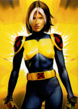 X-Men wallpaper probably with a leotard and a hip boot titled Rogue
