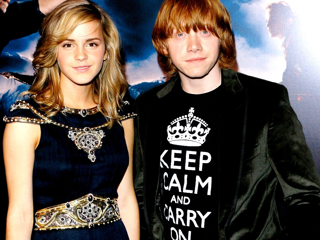 Ron and Hermione wallpaper