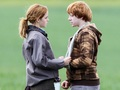 Ron and Hermione Wallpaper - romione wallpaper