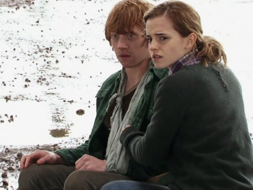 Ron and Hermione hình nền