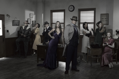 Season 4 - Cast  Promo Photo - castle Photo