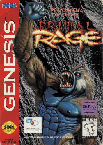 Sega Genesis   Primal Rage