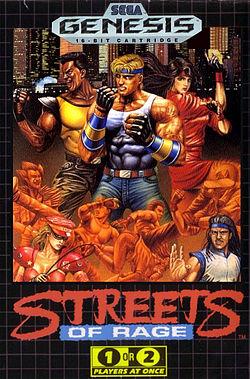 Sega Genesis   Streets of Rage