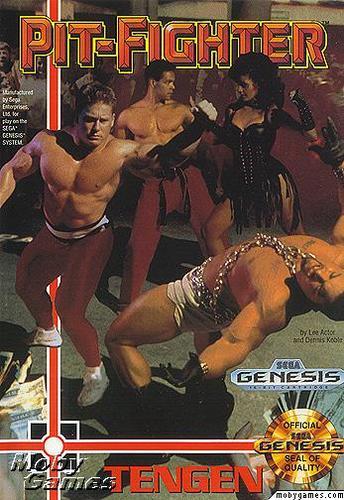 Sega Genesis   Pit Fighter