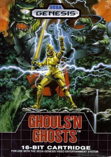 Sega Genesis   Ghouls 'n Ghosts