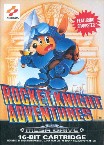 Sega Genesis   Rocket Knight Adventures