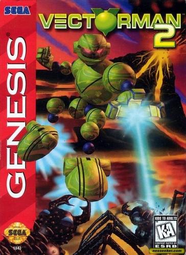Sega Genesis   Vectorman 2