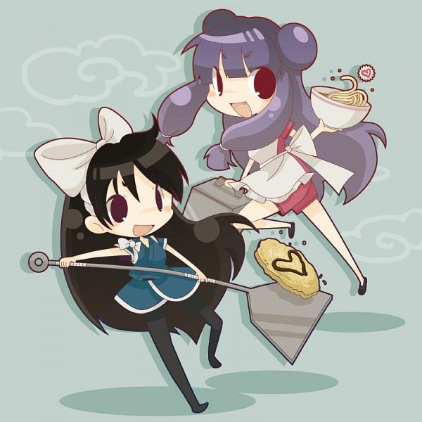Shampoo and Ukyo Chibi