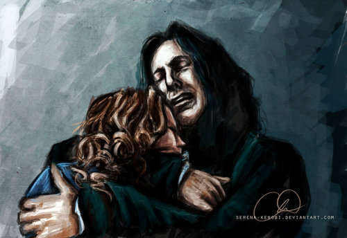 Snape and Lily - Always  - severus-snape-and-lily-evans Fan Art