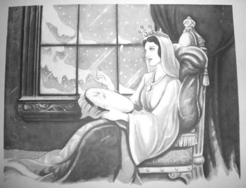 Snow White's Biological Mother from official Disney book!