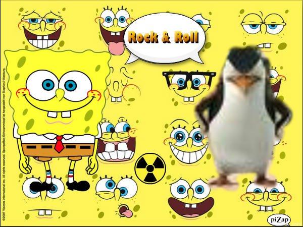 SpongeBob and Skipper