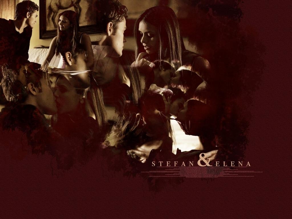 Stefan and Elena - Stefan & Elena Wallpaper (24877604 ...