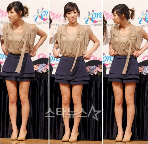 TaeYeon attended the 2011-2012 Visit Korea 年